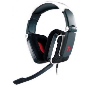 Tt eSPORTS Shock white - Геймърски слушалки