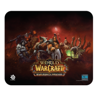 Геймърски пад за мишка SteelSeries QcK Warlords of Draenor Edition