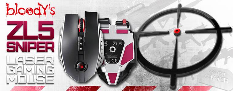 A4Tech Bloody ZL5 SNIPER лазерна мишка - тиизър