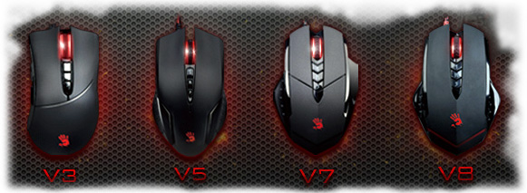 A4Tech Bloody V7m - Multi-Core GUN3 USB мишка за игри