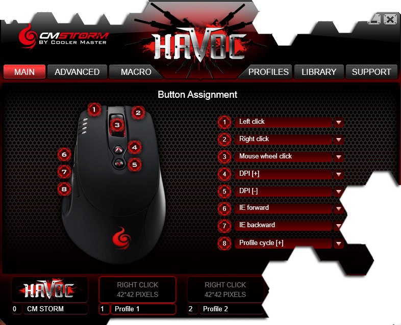 CM Storm Havoc Software 2