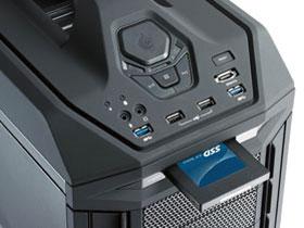 CM Storm Trooper вграден слот / чекмедже за директно вкарване на SSD