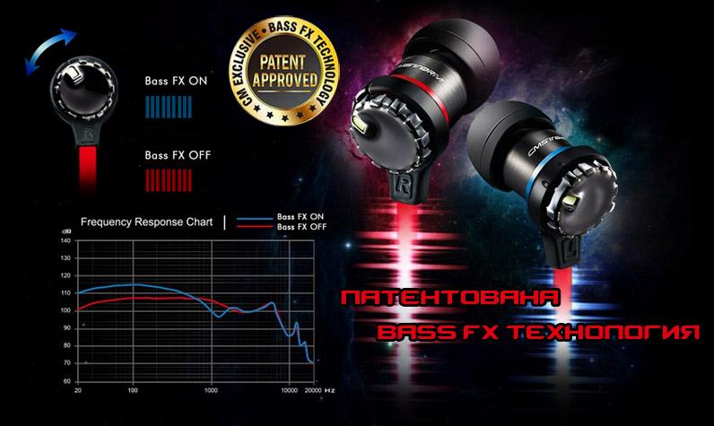 CM Storm RESONAR с патентована Bass FX технология