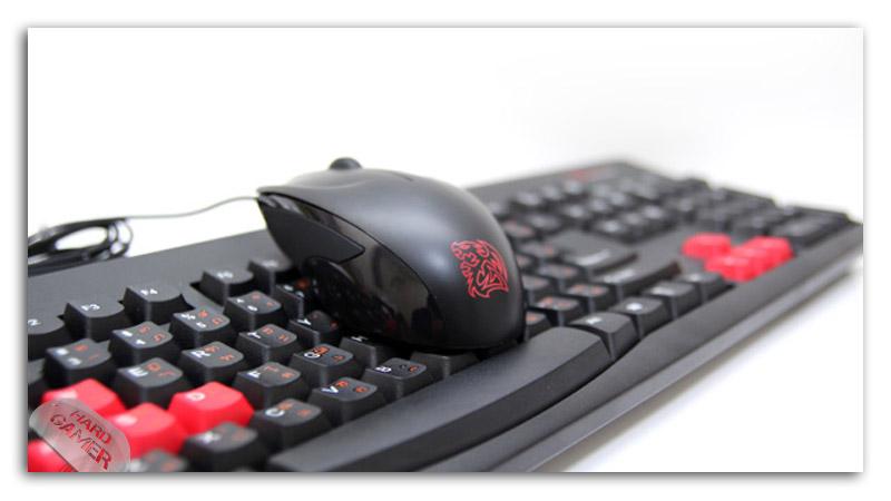 TteSPORTS клавиатура Amaru и мишка Ryujin