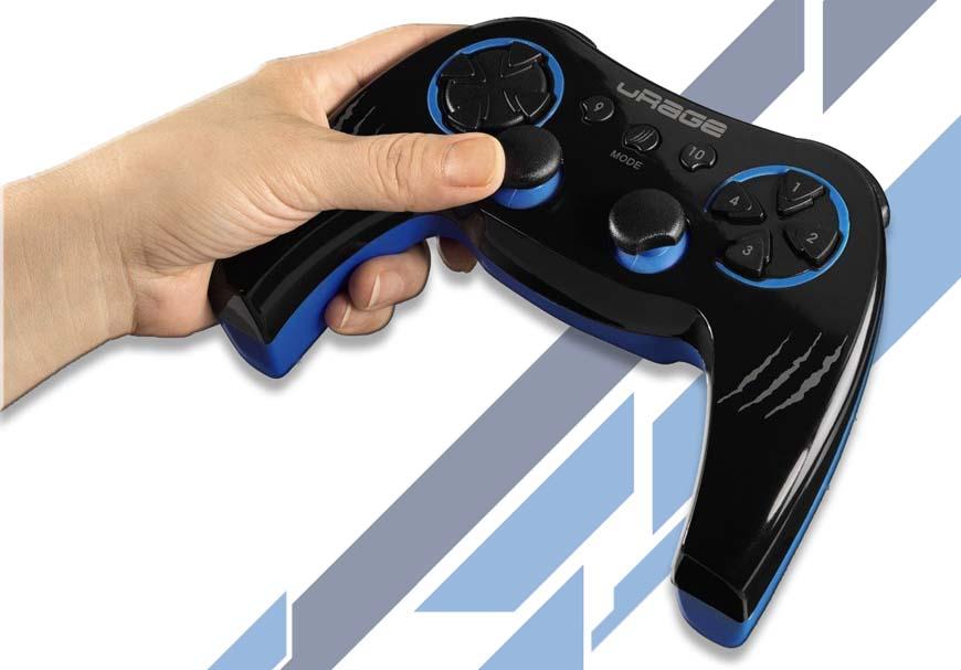 HAMA uRage Essential Gamepad Wireless изгоден безжичен геймпад с вибрация