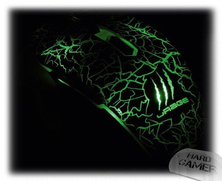 Hama uRage Illuminated геймърска мишка - Милитъри Зелено